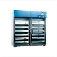 Double Door Blood Bank Refrigerator