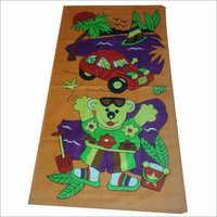 Kids Teddy Bear Printed Towels