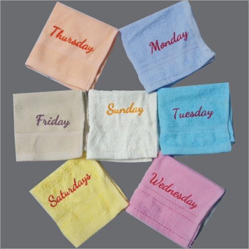 Weekdays Towel