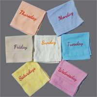 Weekdays Type Towel
