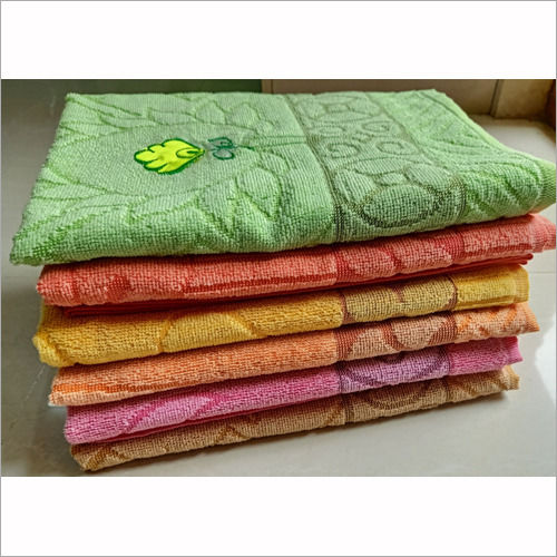 Solid Emb Towels