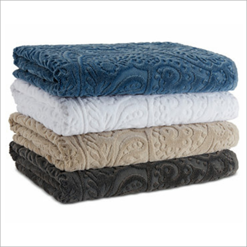 Jacquard Cotton Bath Towels