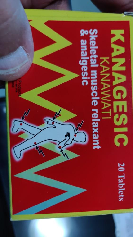 Kanagesic/ Paracetamol And Orphenadrine Citrate Tablets