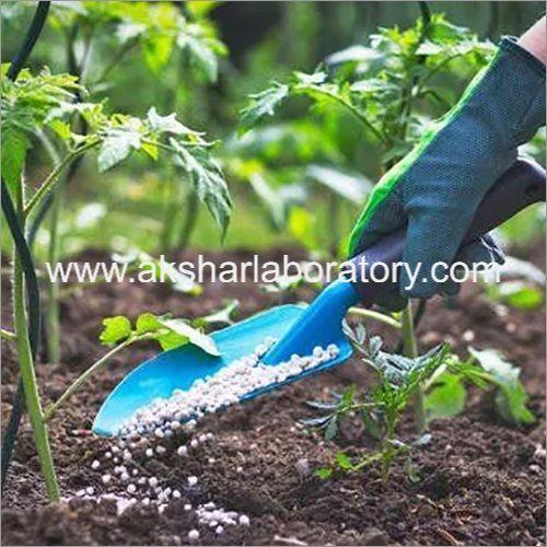 Chemical Fertilizer Testing Services