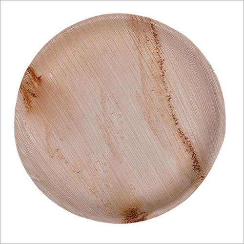 10 Inch Areca Shallow Round Plate