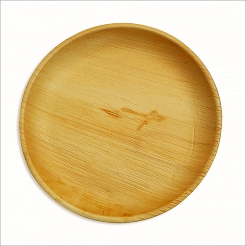 7 Inch Areca Shallow Round Plate