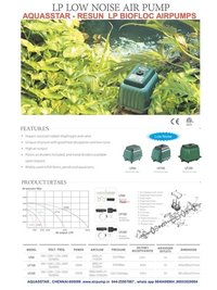 LP-200 BIOFLOC AIR PUMP