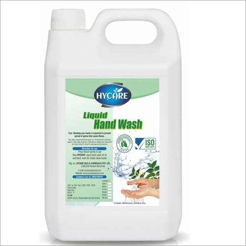 5 Ltr Liquid Hand Wash