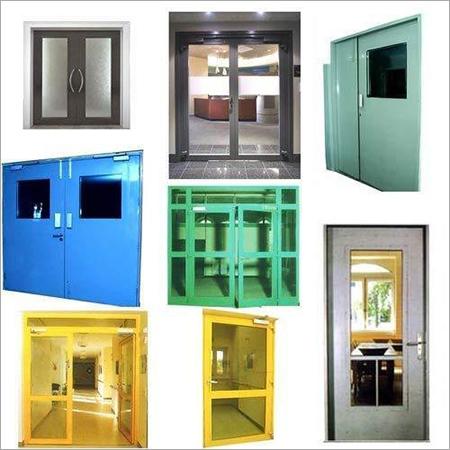 Fire Rated Steel Glazed Doors
