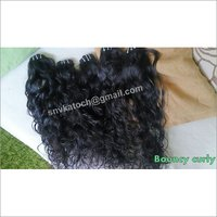 Untreated Curly Hair