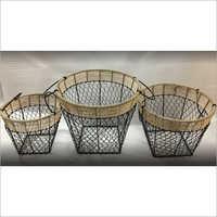 Iron Wrought Basket