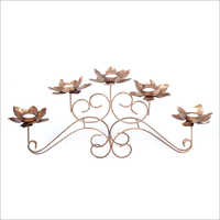 5 in1 Flower Tea Light Candle Holder with Stand