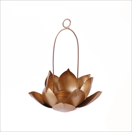 Flower Hanging Tea Light Candle Holder