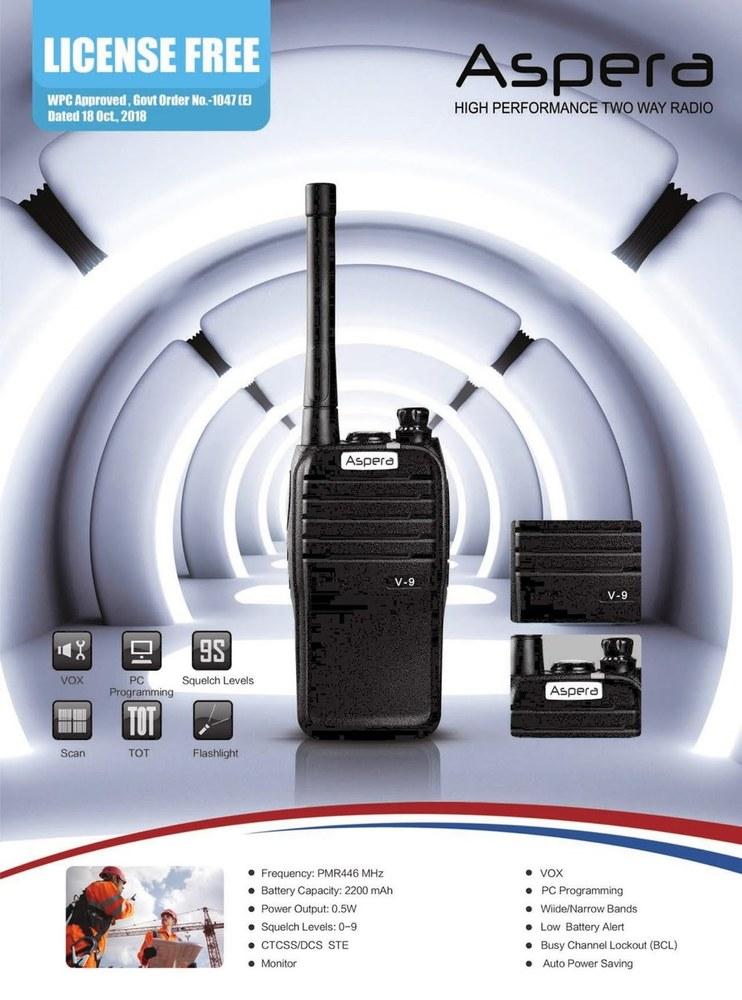 Aspera walkie Talkie Radio