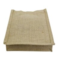 PP Laminated Jute Tote Bag With Jute Handle & Inside Pocket