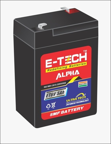 ERC E-TECH ALPHA  6V 5AH Weighing Machine with 7 Month Warranty