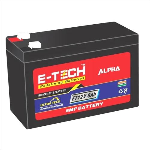 ERC E-TECH ALPHA  12V 8AH UPS with 7 Month Warranty