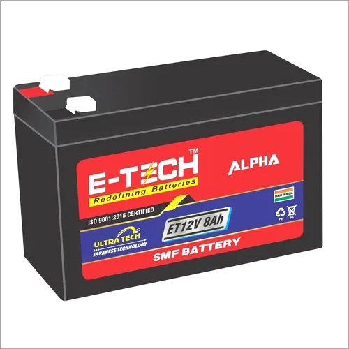 ERC E-TECH ALPHA  12V 8AH UPS with 7 Month Warranty