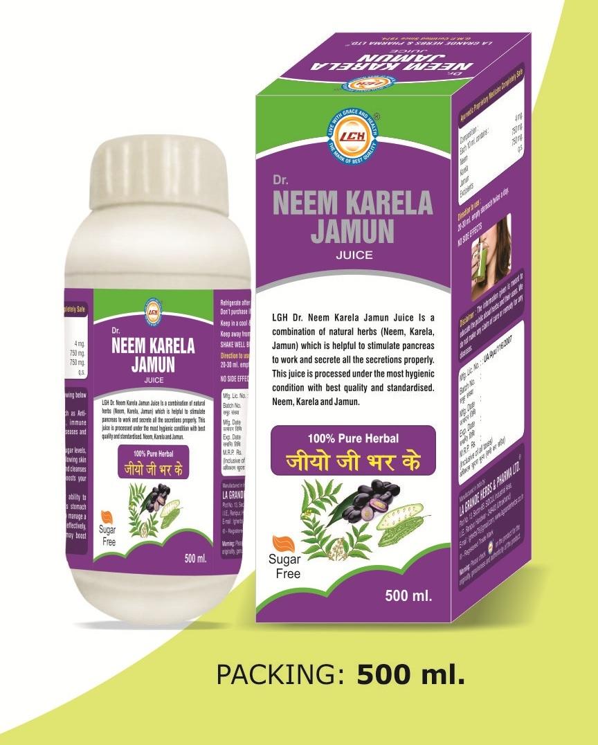 LGH Dr. Neem Karela Jamun Juice