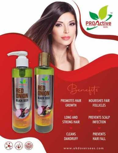 Red onion black seed hair growth oil 200ml