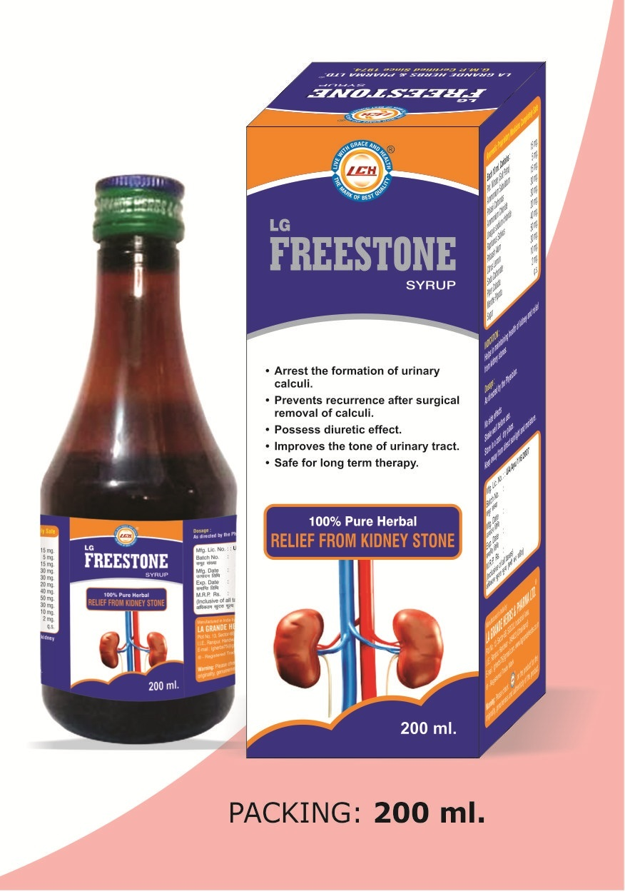 LG Freestone Syrup
