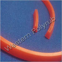 Rubber Extrusion Trapezoid Shaped Profile