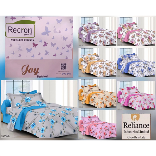 Printed Celcia Bed Sheet