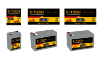 ERC E-TECH DELTA 6V 4.5AH with 12 Month Warranty