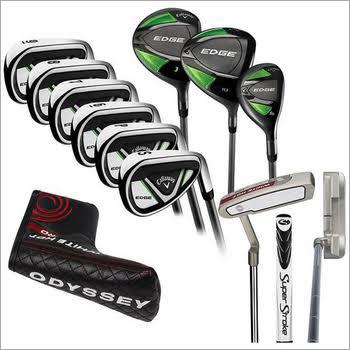 10 Piece Golf Club Set