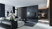 Black Grey Interior