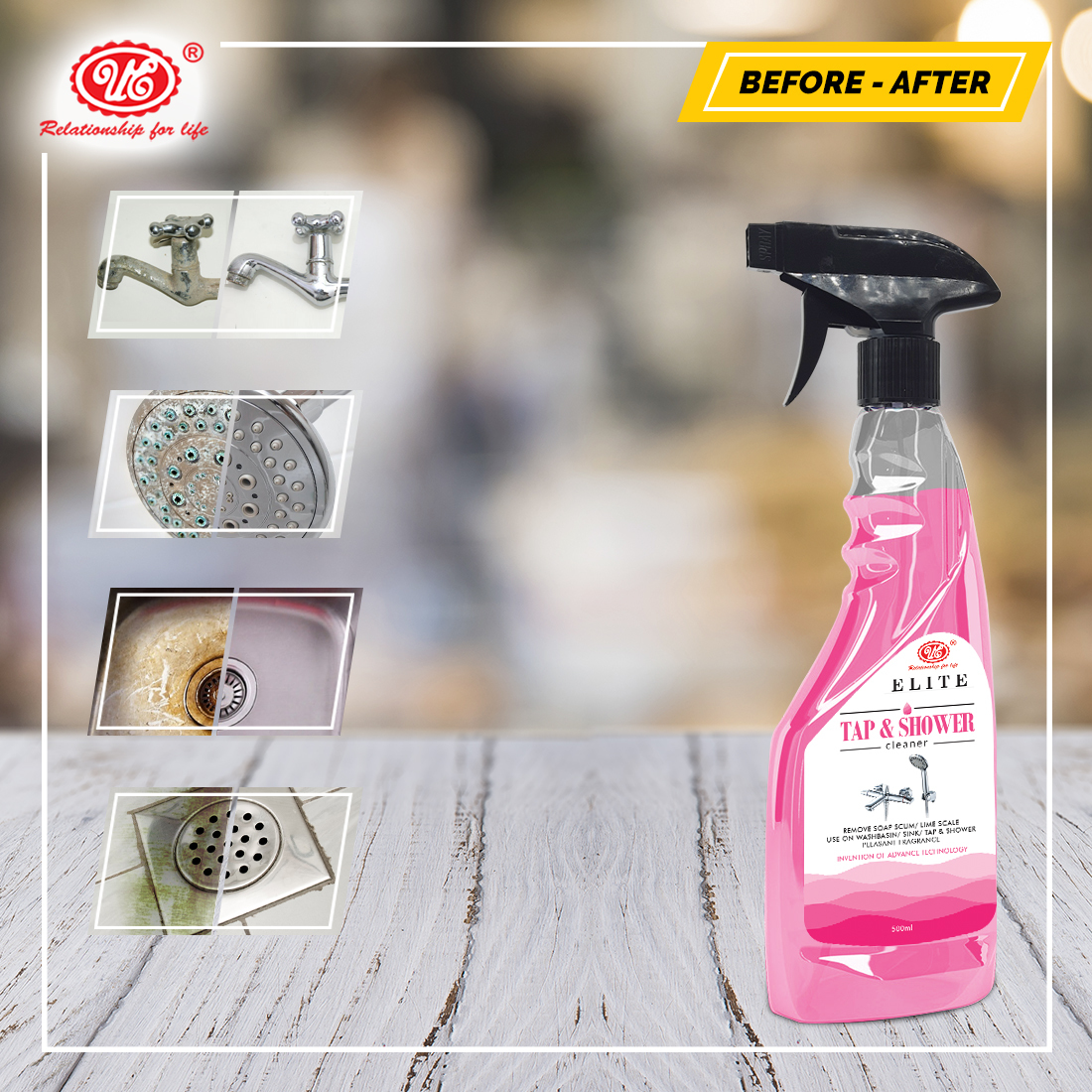 Tap & Shower Cleaner