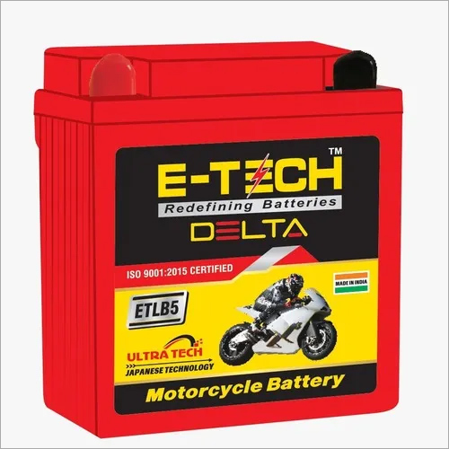 ERC E-TECH DELTA 5LB  Motorcycle (125CC - 160CC) with 50 Month Warranty