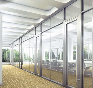 Demountable Aluminium Partition
