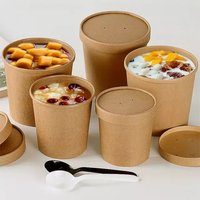 Kraft Paper Food Container