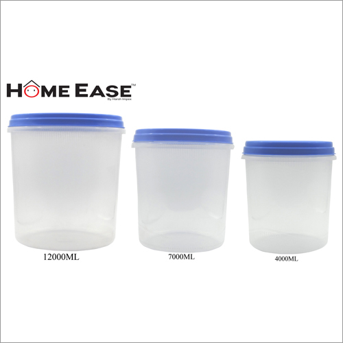 12000ml-7000ml-4000ml PP Blue Cap Container