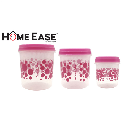 3000ml-2000ml-1000ml PP Pink Container
