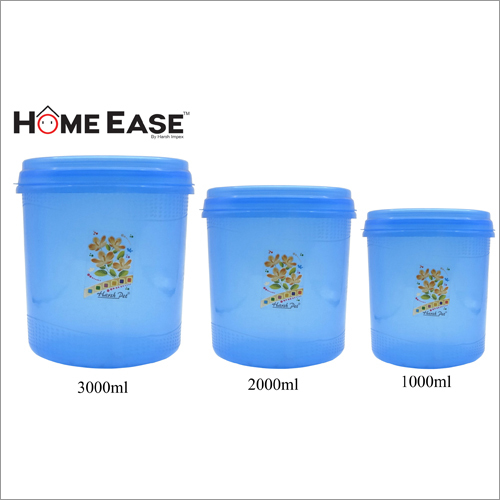 3000ml-2000ml-1000ml PP Blue Container