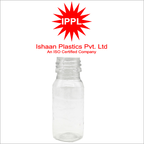 25MM Pet Plastic Pharma 30ml Bottle Without Cap