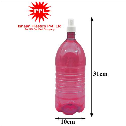28MM 10x31cm Pet Plastic Pharma Bottle With 2000ml PP Mist Cap