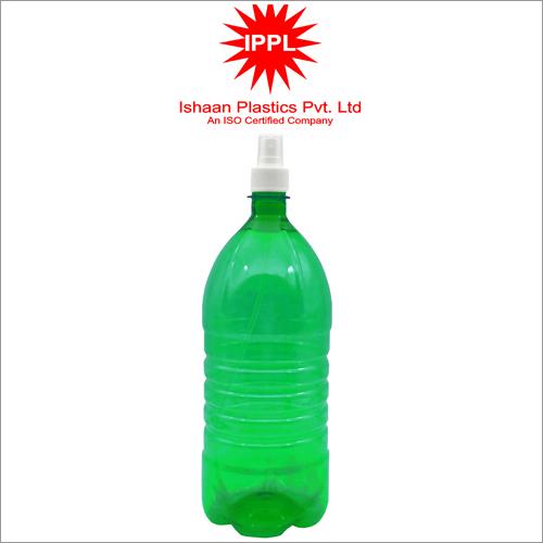 28MM Green Pet Plastic Pharma Bottle With 2000ml PP Mist Cap