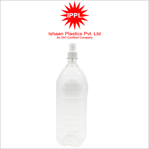 28MM Pet Plastic Pharma Bottle With 1500ml Transparent PP Mist Cap