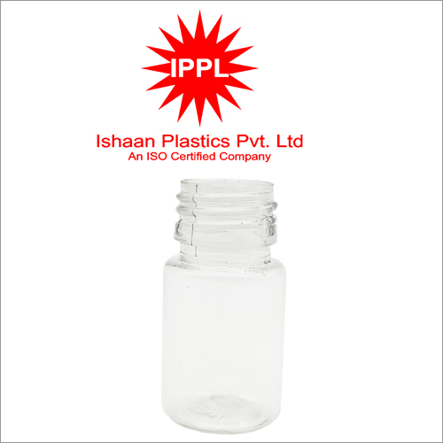 25MM Pet Plastic Pharma Bottle Without Cap