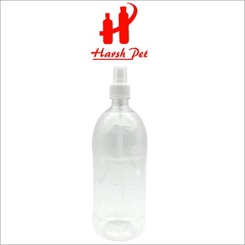 28MM Pet Plastic Pharma Bottle With 1000ml Transparent PP Mist Cap