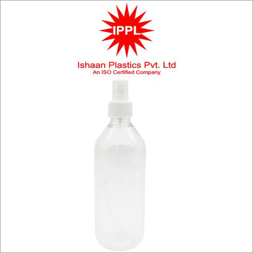 28MM Pet Plastic Pharma Bottle With 500ml PP Mist Cap