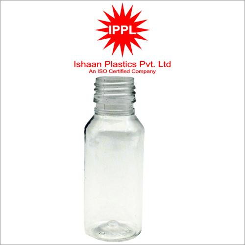 25MM Pet Plastic Pharma Bottle Without Cap