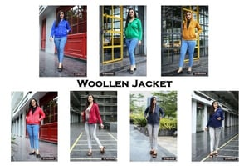 Woollen Jacket Lunched By Vasu