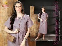Rajkosh Khadi Cotton Kurti Set
