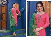 Kalyani Cotton Slub Kurti Catalogue Set