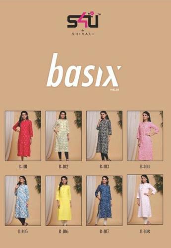 Basix Designer Kurti Catalogue Set