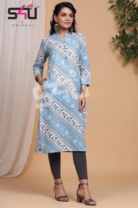 Basix Designer Kurti Catalogue Set